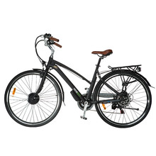 "Women's Trekking E-Bike TrybEco Luna 28"" - Black"