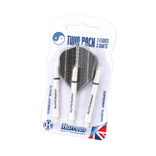 Dart Shaft & Flight Set Harrows Twin Pack Medium - White