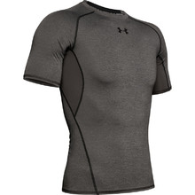 Men's Compression T-Shirt Under Armour HG Armour SS - Carbon Heather