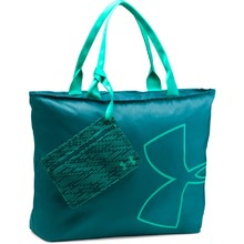 Women's Tote Bag Under Armour Big Logo - Turquoise
