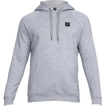 Men's Hoodie Under Armour Rival Fleece PO - Steel Light Heather/Black