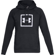 Men's Hoodie Under Armour Rival Fleece Logo - Black/White