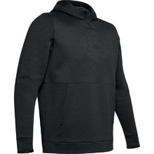 Men's Hoodie Under Armour Athlete Recovery Fleece Graphic - Black