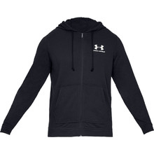Men's Sweatshirt Under Armour Sportstyle Terry FZ - Black