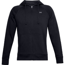 Men's Hoodie Under Armour Rival Fleece FZ - Black