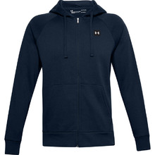 Men's Hoodie Under Armour Rival Fleece FZ - Academy