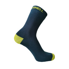 Waterproof Socks DexShell Ultra Thin Crew - Navy-Lime