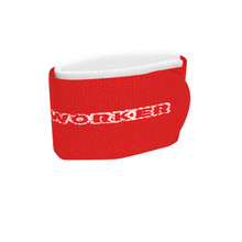 Fastening straps for cross country bands WORKER - Red