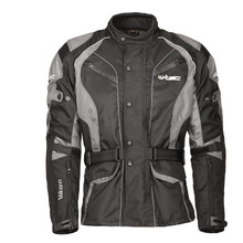 Moto Jacket W-TEC Valcano - Black-Grey