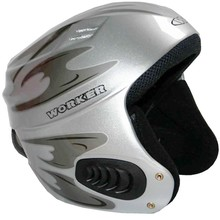Vento Gloss Graphics Ski Helmet  WORKER - Silver Graphics.