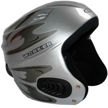 Vento Gloss Graphics Ski Helmet  WORKER - Titanium Grey