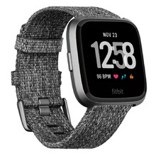 Smart Watch Fitbit Versa Charcoal Woven