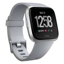 Smart Watch Fitbit Versa Gray/Silver Aluminum