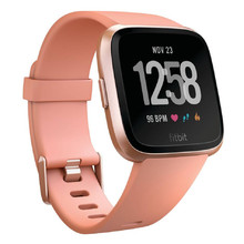 Smart Watch FITBIT Versa Peach/Rose Gold Aluminum