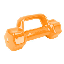 Vinyl Dumbbell Laubr 1 kg - Orange
