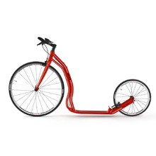 Kick Scooter Yedoo Wolfer 2020 - Red