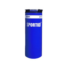 Children's Punching Bag SportKO MP5 29x75cm - Blue