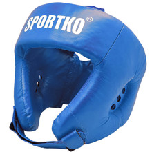 Boxing Head Guard SportKO OK2 - Blue