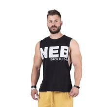 Men's Tank Top Nebbia Back to the Hardcore 144 - Black