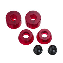 Bushings 85A - Red Transparent