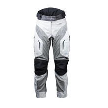 Women's Summer Moto Pants W-TEC Umberto Lady - White-Grey-Black