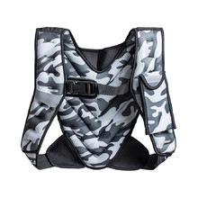 Weighted Vest inSPORTline Klaper 5 kg - Camu Grey