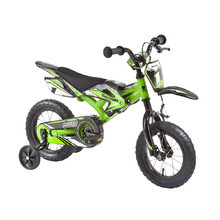 "KAWASAKI Moto Kids Bike 12"" - model 2014 - Green"