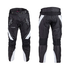 Women's Moto Pants W-TEC Kaajla NF-2683 - Black-White