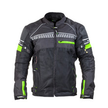 Men's Moto Jacket W-TEC Meltsch NF-2301 - Neon Green-Black