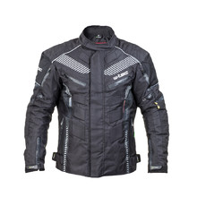 Men's Moto Jacket W-TEC Kamicer NF-2100 - Black-Grey