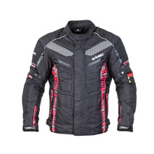 Men's Moto Jacket W-TEC Kamicer NF-2100 - Black-Red