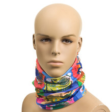 Universal multifunctional scarf ROLEFF Pop art