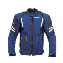 Men's Moto Jacket W-TEC Briesau NF-2112 - Blue-Black