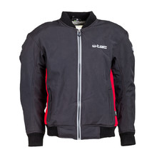 Men's Softshell Moto Jacket W-TEC Langon NF-2753 - Black-Red
