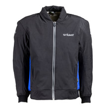 Men's Softshell Moto Jacket W-TEC Langon NF-2753 - Black-Blue
