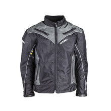 Men's Moto Jacket W-TEC NF-2115 - Black-Chameleon Grey