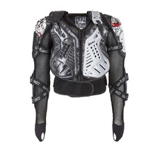 Body Protector W-TEC NF-3504 - Black-White-Grey