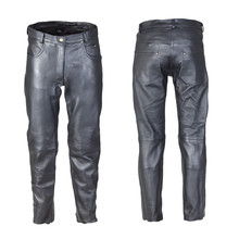 Women's Leather Moto Pants W-TEC Annkra NF-1250 - Black
