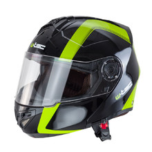 Motorcycle Helmet W-TEC V270 - Black-Green