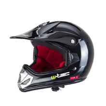 Junior motorcycle helmet W-TEC V310 - Black