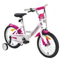 "Kid bike Reactor Foxy 16"" - White-Pink"