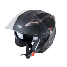 Motorcycle Helmet W-TEC YM-627 - Matt Black-Bronze