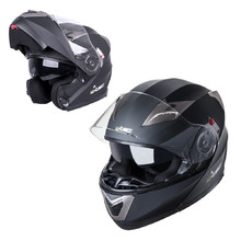 Motorcycle Helmet W-TEC YM-925 - Matt Black-Bronze