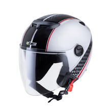 Motorcycle Helmet W-TEC YM-617 - Race White