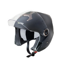 Motorcycle Helmet W-TEC YM-623 - Matt Black-Bronze