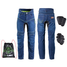 Men's Motorcycle Jeans W-TEC Biterillo - Blue