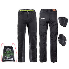 Men's Motorcycle Pants W-TEC Raggan - Black