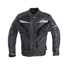 Men's Motorcycle Jacket W-TEC Progair - Black-Fluo