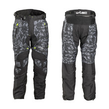 Men's Summer Motorcycle Pants W-TEC Toregate - Black-Grey Digi-Camo