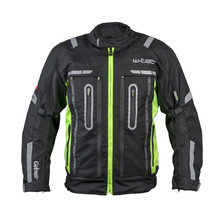 Motorcycle Jacket W-TEC Gelnair - Black-Green
